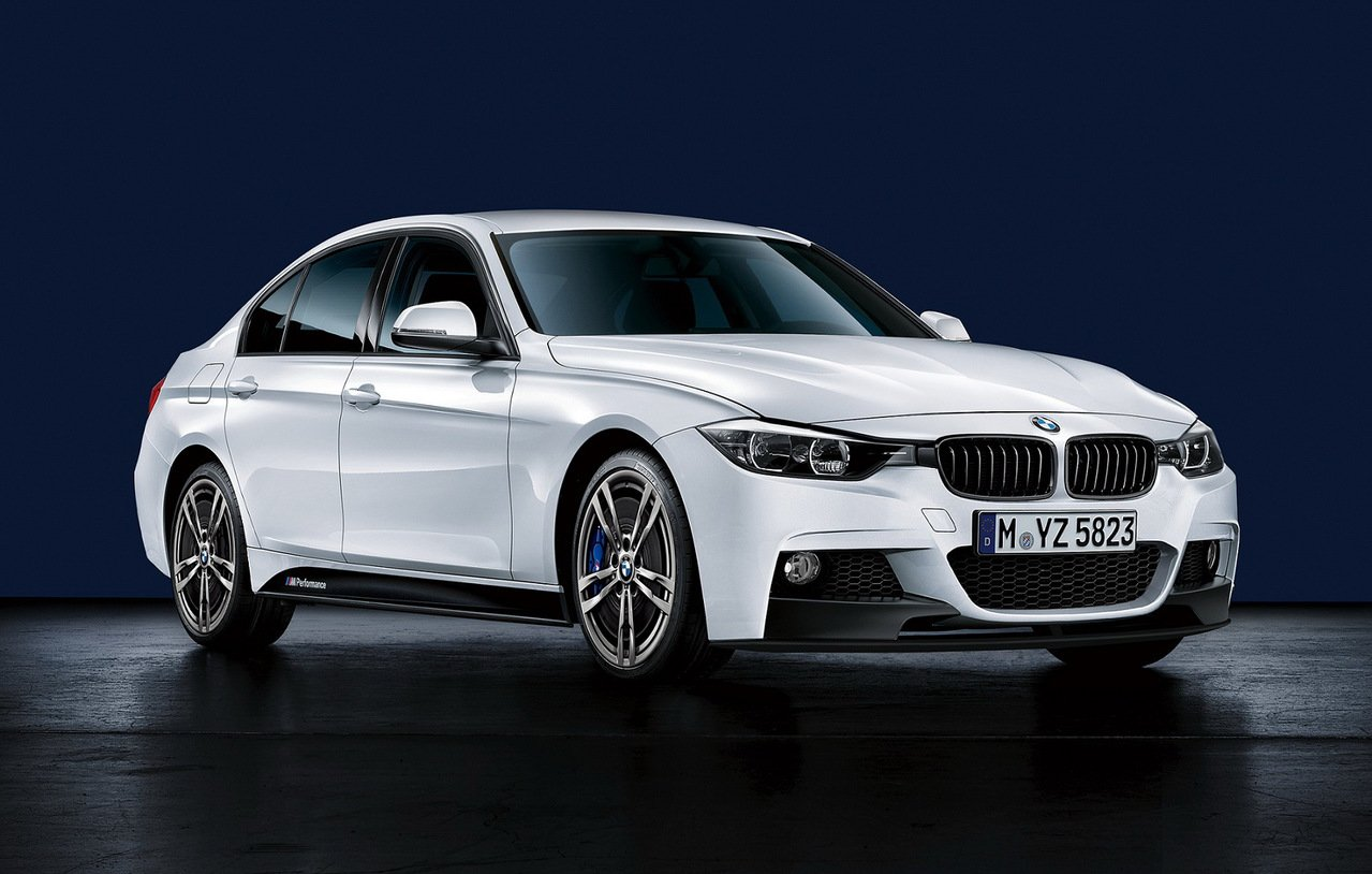 全新BMW 330i M Performance限量版。 圖/汎德提供