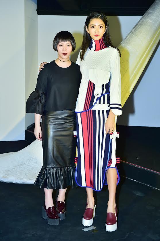 Maison Noir創辦人曾婕與超模吳宜樺共同出席開幕活動。圖/Maison ...