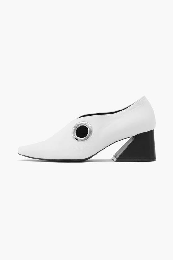 rejina pyo幾何跟鞋,價格店洽。圖/Maison Noir提供