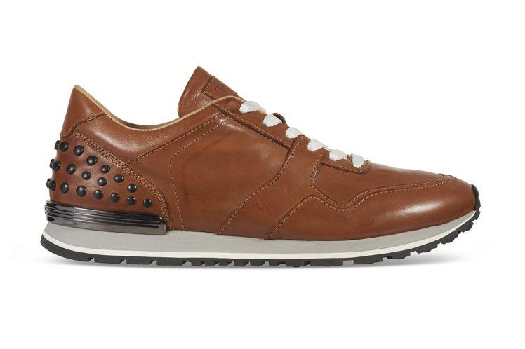 仿古皮革豆豆休閒鞋(男),售價未定。圖/TODS提供