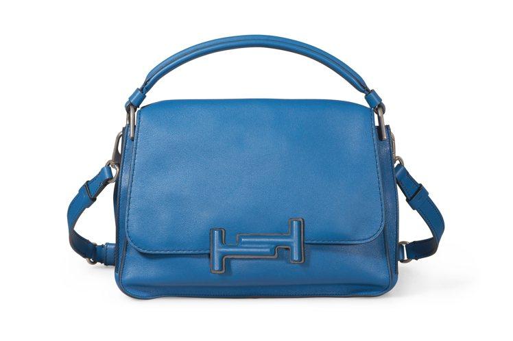 彩色Double T Bag,售價72,800元。圖/TODS提供