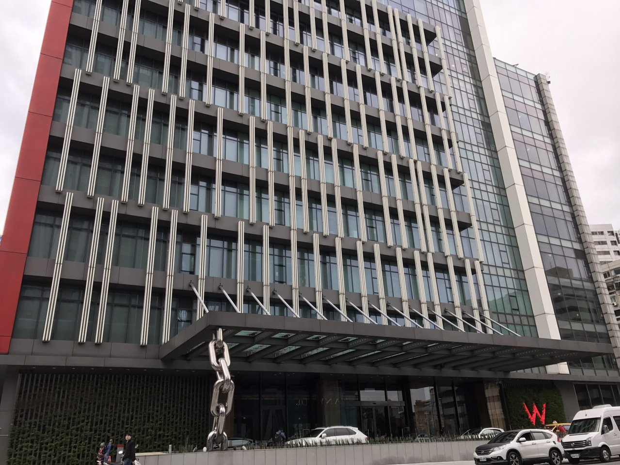 台北市知名W飯店發生女子疑開趴嗑藥,送醫後不治。 聯合報系資料照