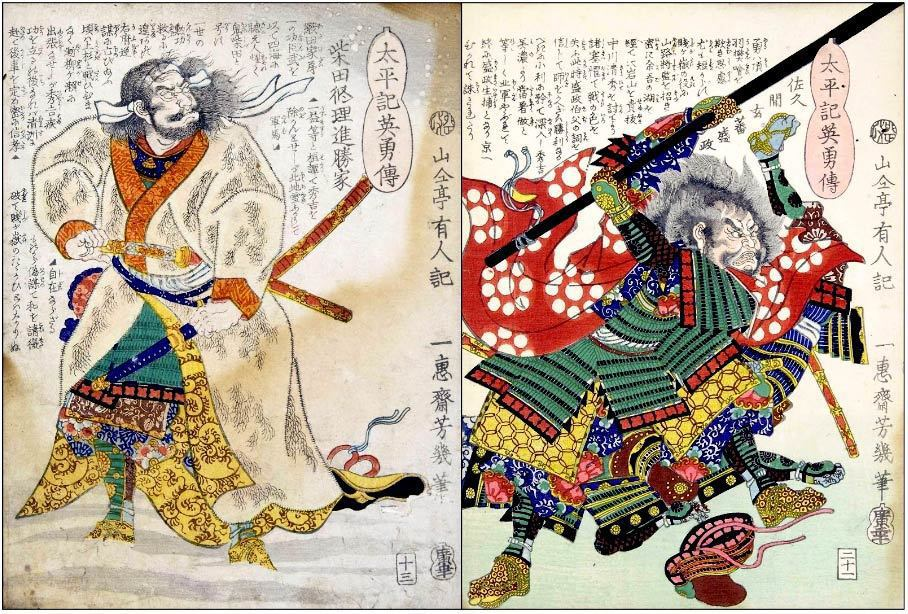 加賀一向一揆的興起將近百年,直到1580年才在織田信長麾下的大將柴田勝家(左)與...