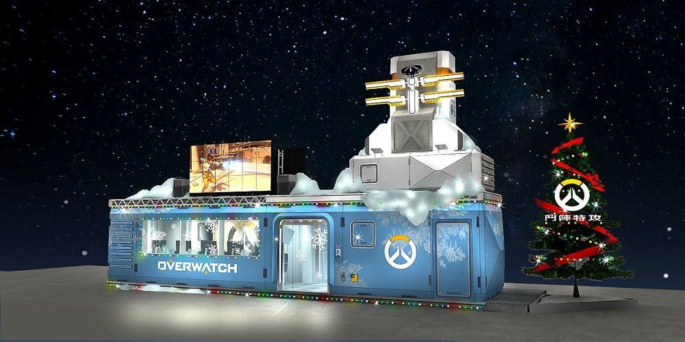 歡慶佳節,華山捍衛者戰鬥營將換新裝,打造銀白世界與玩家同歡。