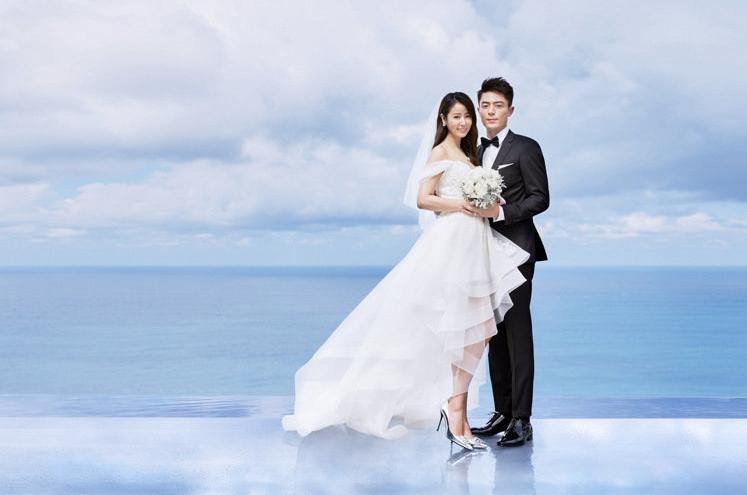霍建華、林心如大婚吸引數百家媒體爭相報導是今年最受矚目的大婚。圖/林心如工作室提...