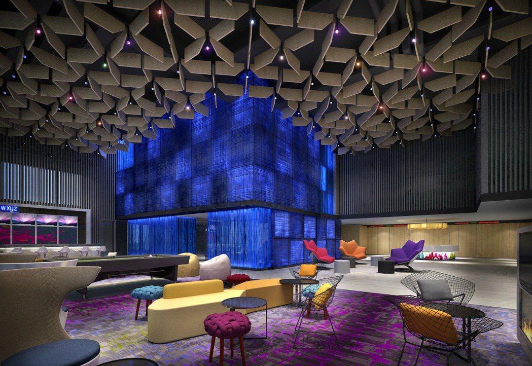 台北北投雅樂軒將於2017年1月1日試營運,全館以loft風格設計、活力四射的色...