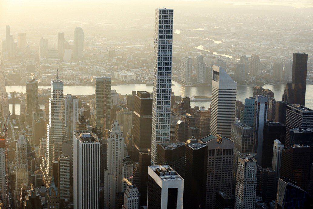 曼哈頓公寓的平均價格超過了200萬美元。(路透)