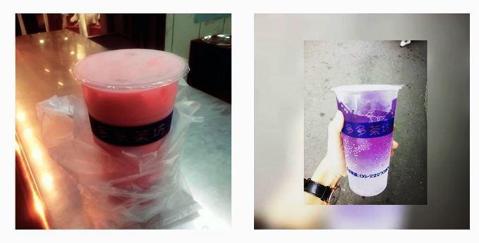 左:隨便。右:不能說的秘密。圖片來源/ instagram