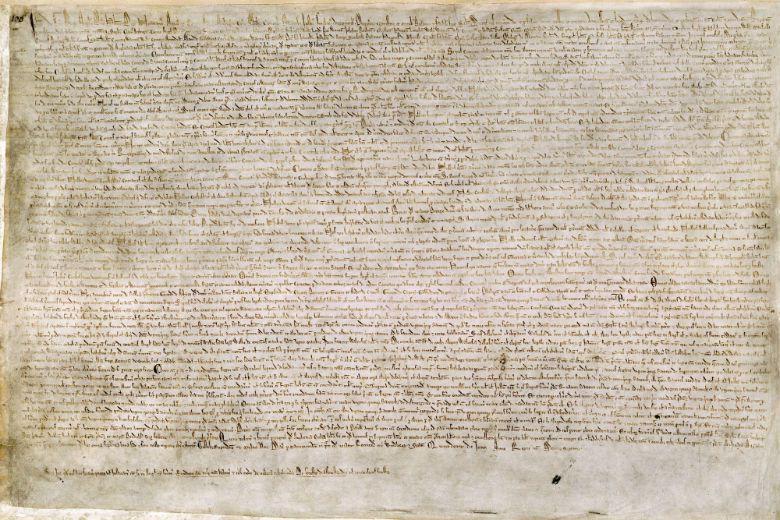 自1215年大憲章規定後,自此我們就進入了拋棄任意性、講求證據與事實的世界。 圖...