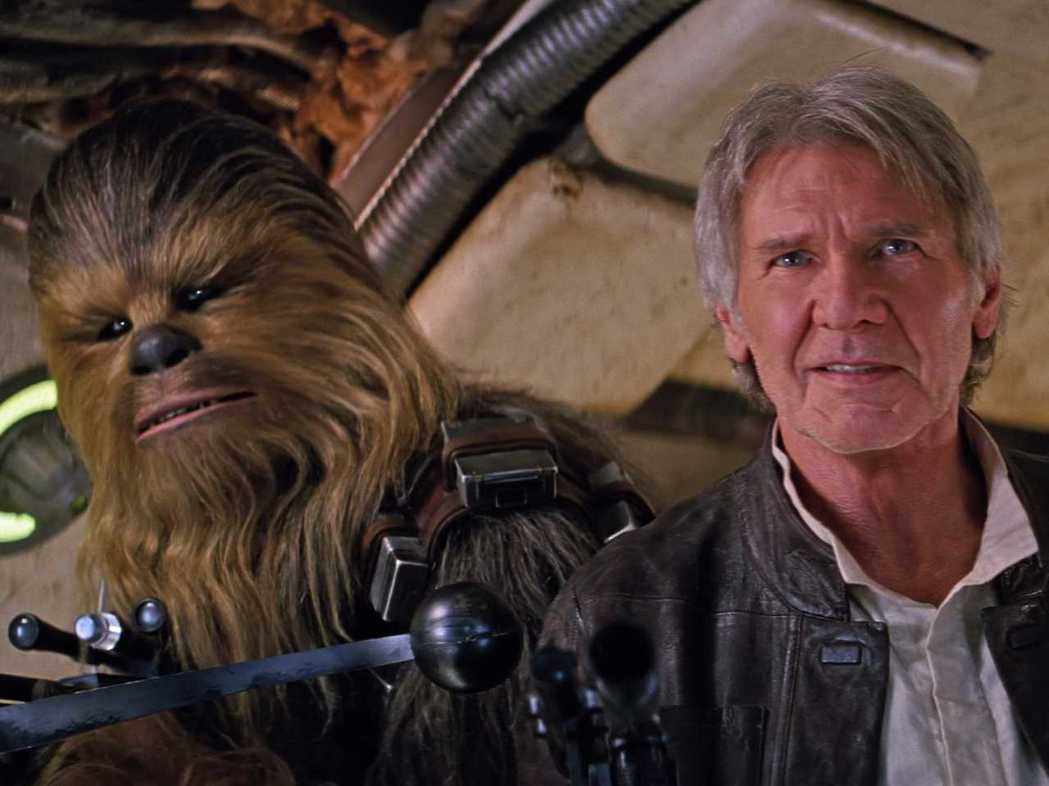 「Star Wars:原力覺醒」當中讓經典角色韓蘇洛重新回歸,讓許多影迷充滿懷舊