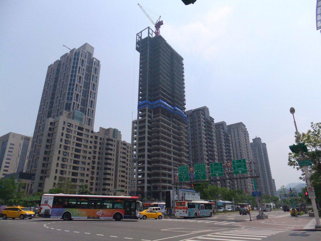 北市今年新建案預估最多僅135個,創2001年以來新低。記者游智文/攝影