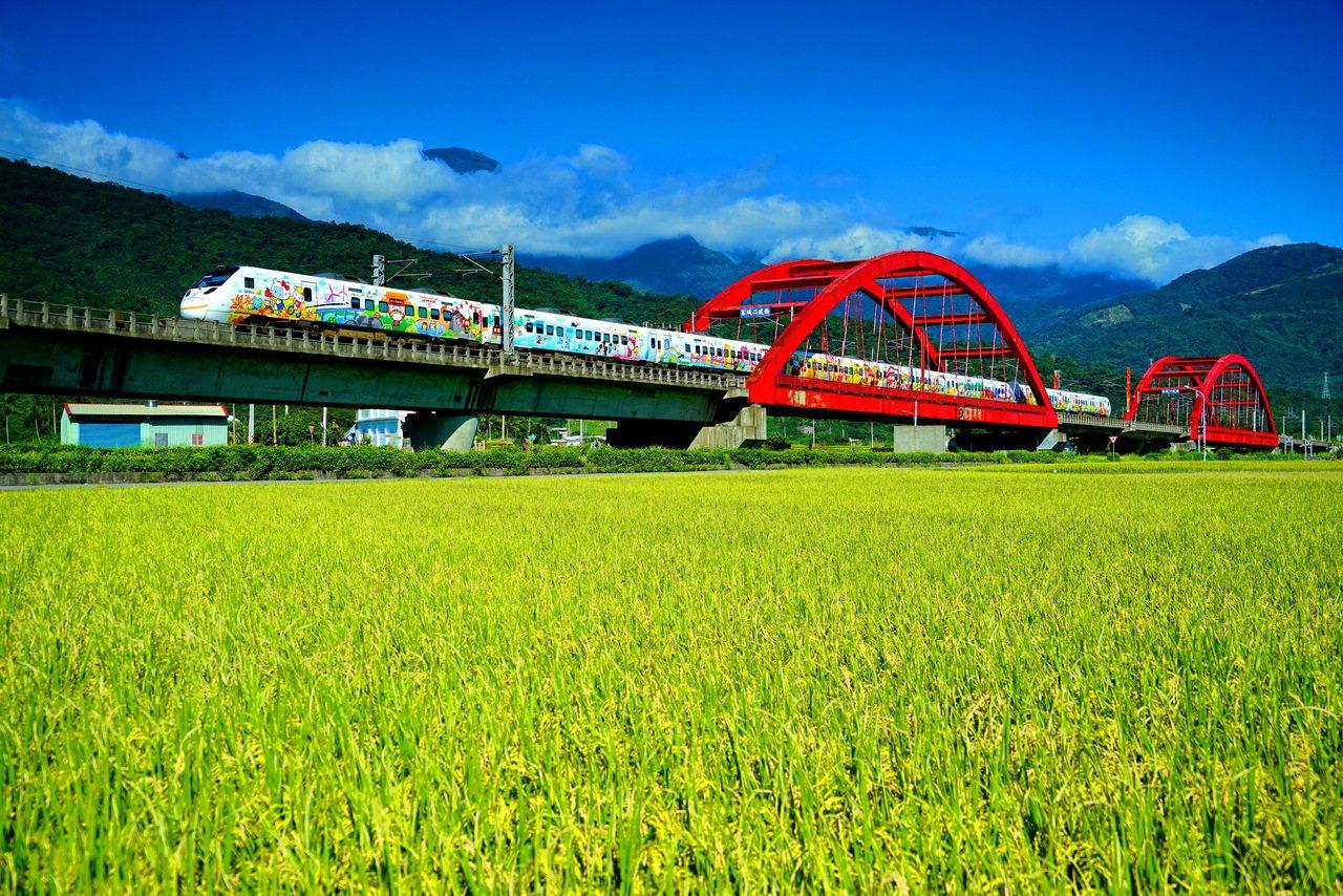玉里鎮客城紅橋,佳作林敏榮拍攝。圖/玉溪地區農會提供