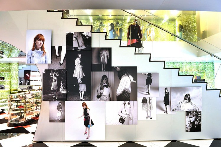 知名攝影師Willy Vanderperre的攝影作品,即起在PRADA台北10...