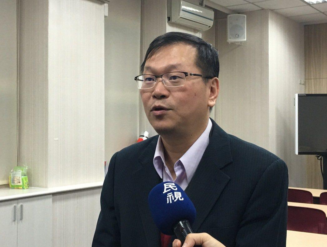 疾管署副署長莊人祥。記者江慧珺/攝影