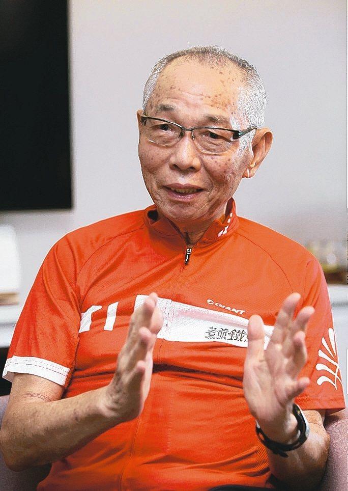 巨大創辦人劉金標。 本報資料照片