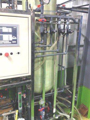 圖2:友特開發的「全自動化鎳回收系統」原型機