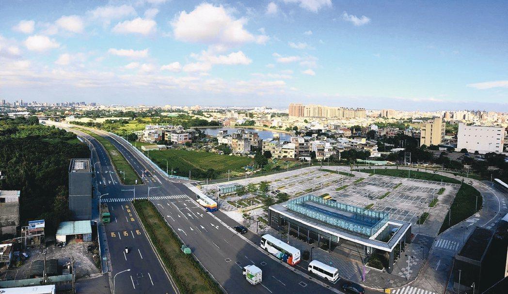 機場捷運A21環北站。 台灣房屋/提供