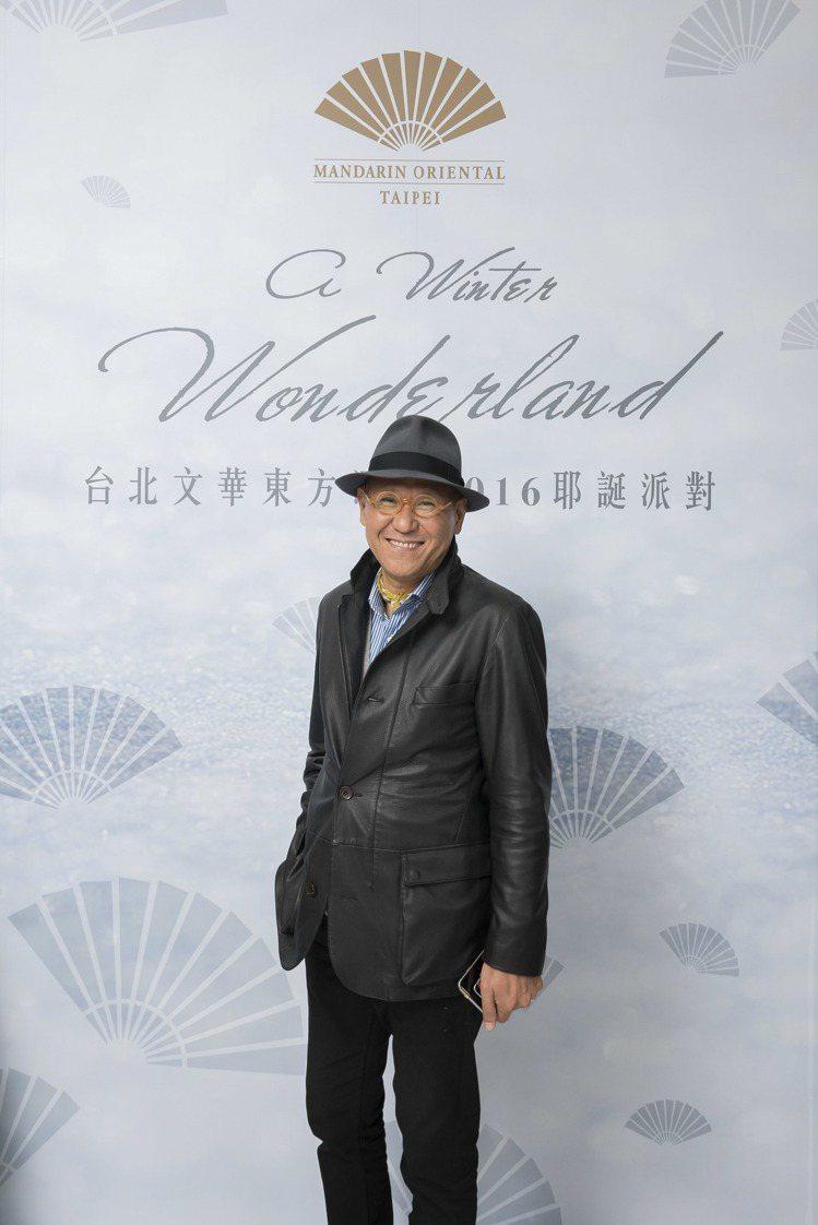 國際知名設計師季裕棠Tony Chi。圖/台北文華東方酒店提供