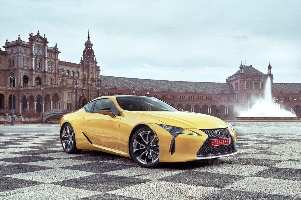 Lexus全新豪華雙門跑車LC車系將提供豪華與性能兼具的享受。 圖/Lexus提供