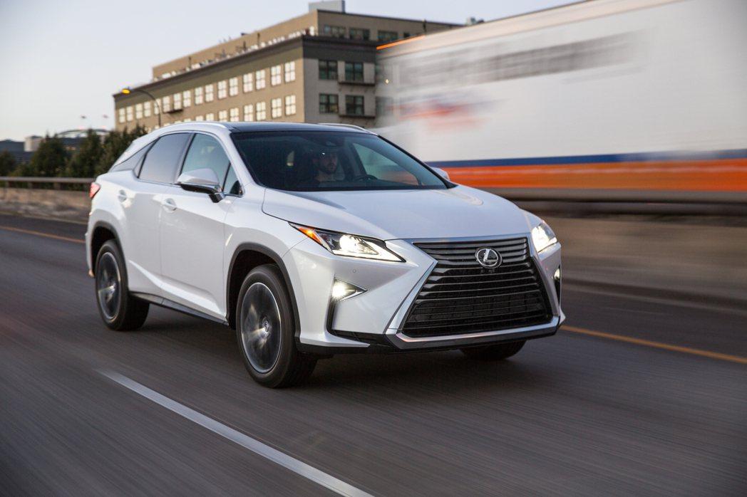 Lexus RX豪華休旅發表後即獲得熱烈迴響。 圖/Lexus提供