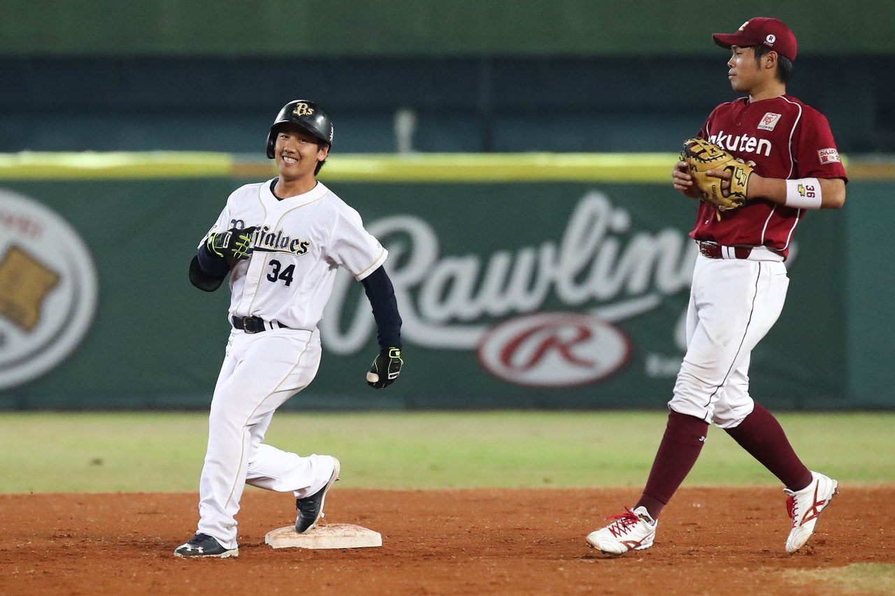 2016年在冬盟表現突出的吉田正尚(左),現在已經成為歐力士陣中主力打者,本季至...