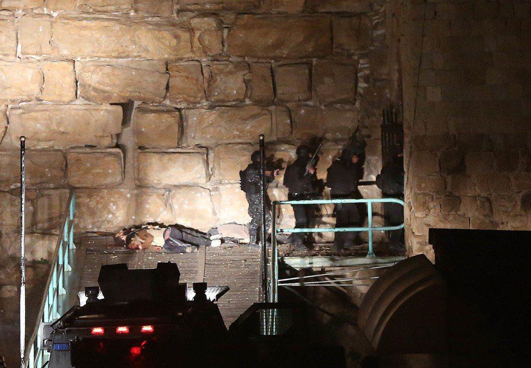 約旦:13死,十字軍古堡裡的人質危機。 圖/歐新社