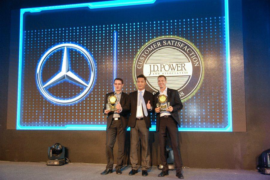 Mercedes-Benz除了在全球與台灣再創銷售佳績外,同時也榮獲 J.D. ...