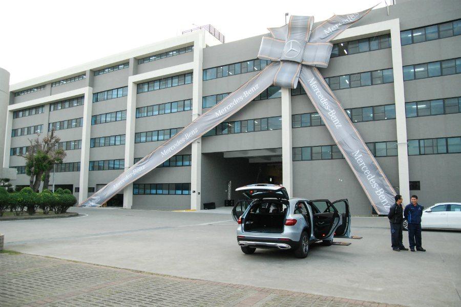 Mercedes-Benz 台灣新車整備中心耗資五億打造,並具有符合政府規範的自...