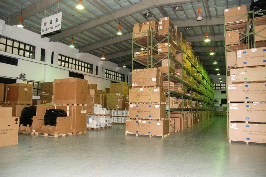 零件倉儲方面,主要是從新加坡訂購零件,平均每天為進貨的零件項目約 600 項。 ...