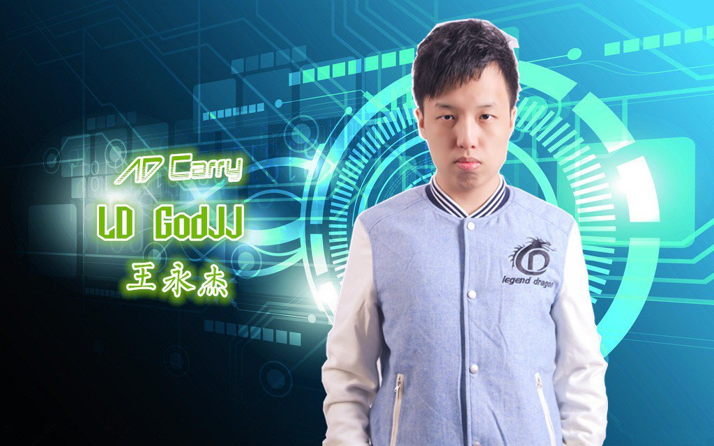 在台灣打了許多比賽後,GoDJJ前往大陸次級職業聯賽LSPL。