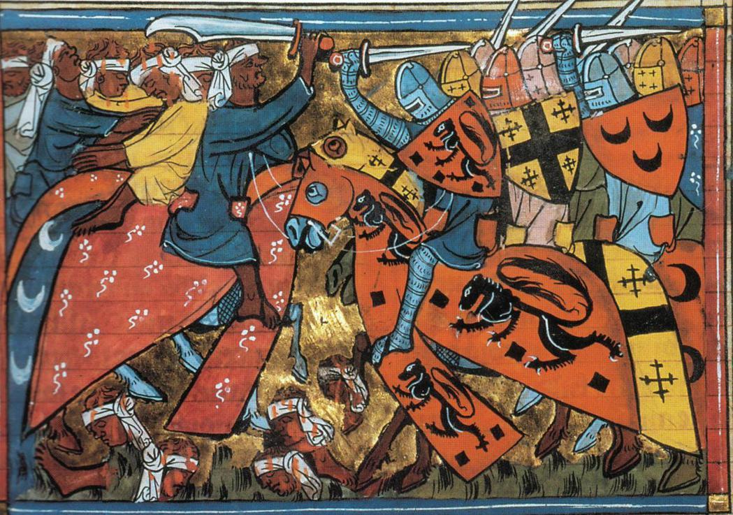 十字軍與地震的侵襲,讓12世紀阿勒頗陷入黑暗的絕境。 圖/維基共享