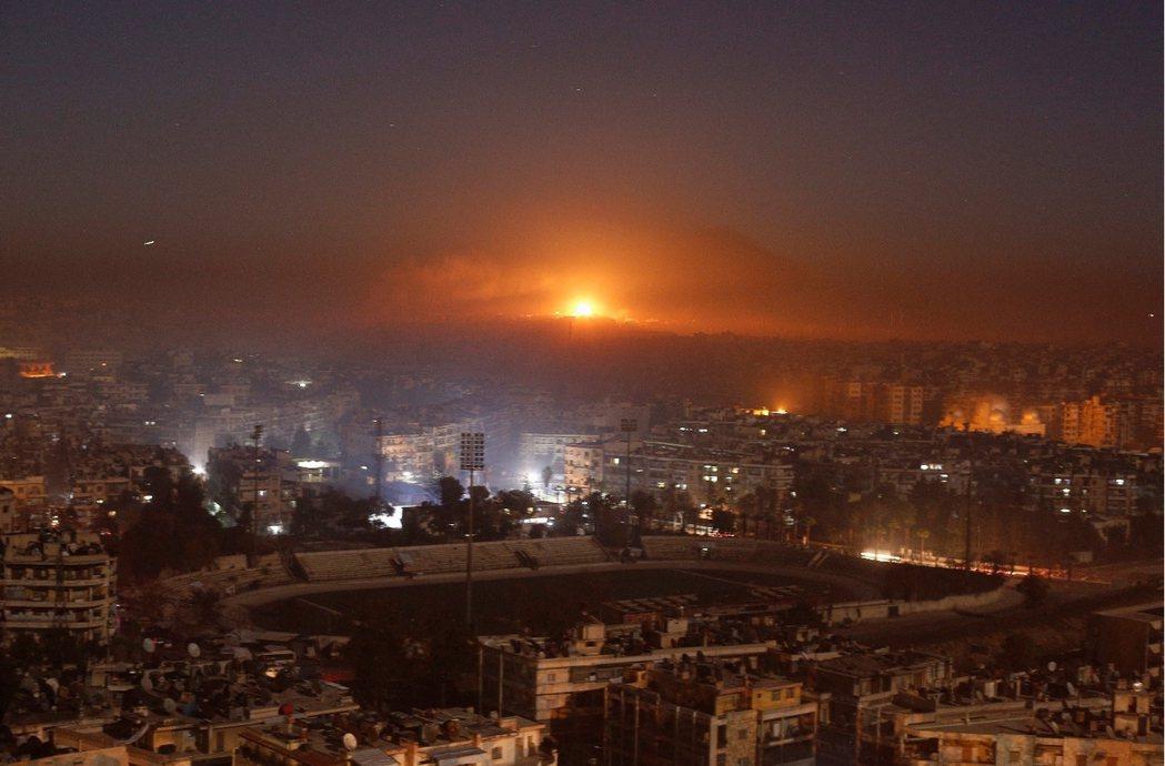「烽火無情」已成為了阿勒頗如今的城市印象。 圖/路透社