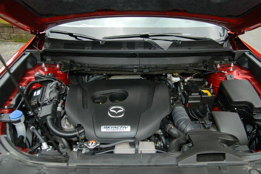 Mazda CX-9 搭載 2.5 升 SKYACTIV-G 直四汽油渦輪引擎,...
