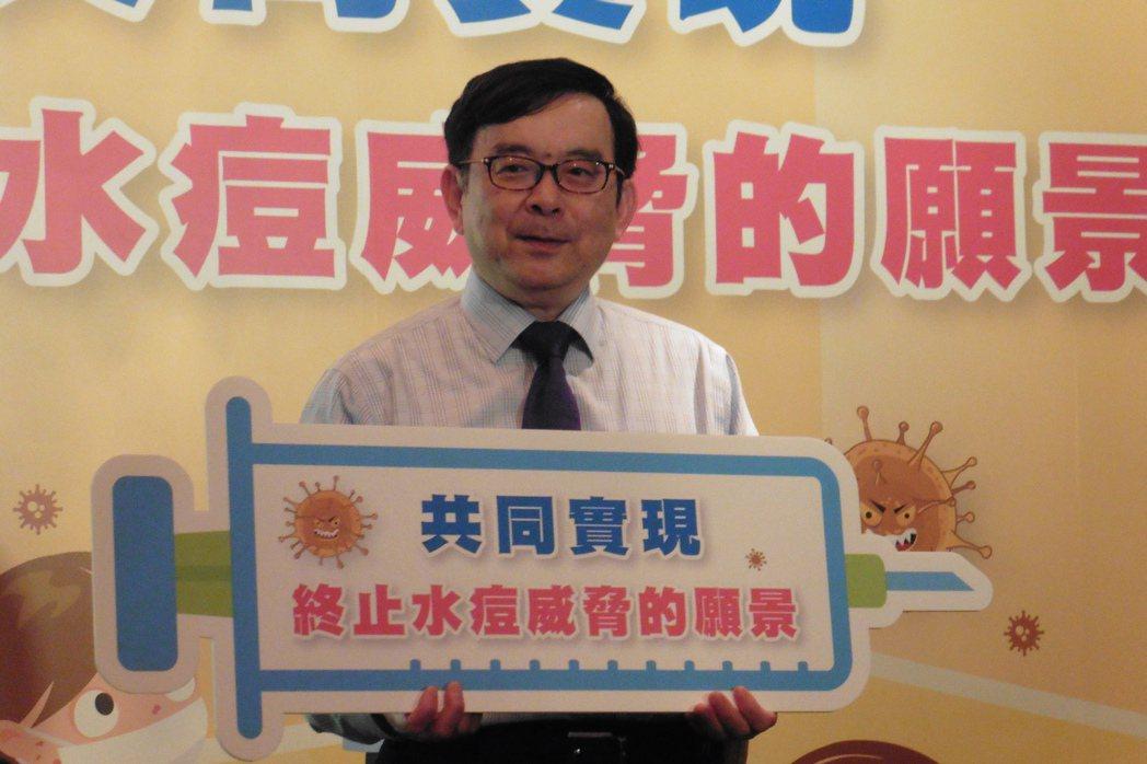 台大醫院小兒部主任黃立民說,冬天水痘病毒好發,提醒一有發燒、倦怠、身體起水泡應盡...