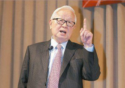 台積電董事長張忠謀。 圖/聯合報系資料照