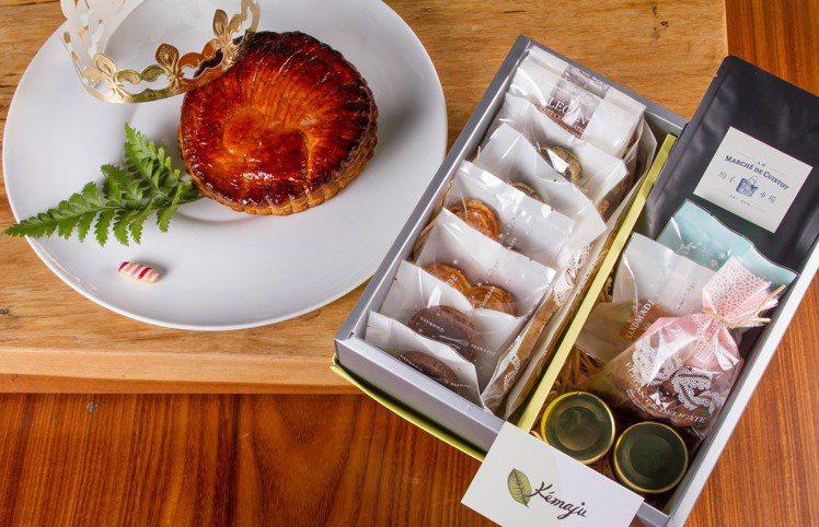 廚子市場XKémaju國王金雞行大運禮盒,1280元。圖/廚子市場提供