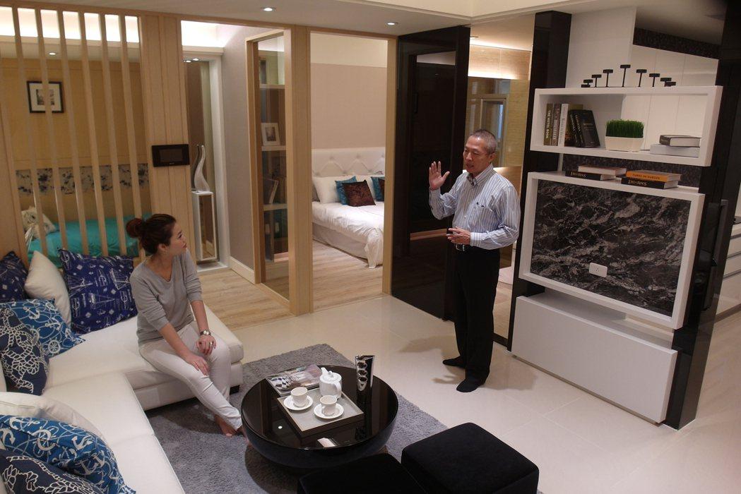 富宇「豐景」鎖定首購客層,進場一個月賣破5成,備受矚目。記者宋健生/攝影