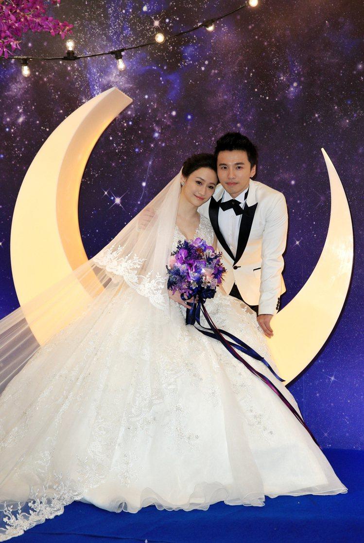 Lollipop@F的「阿緯」劉俊緯風光迎娶中菲行國際物流的百億千金錢文儀。圖/...