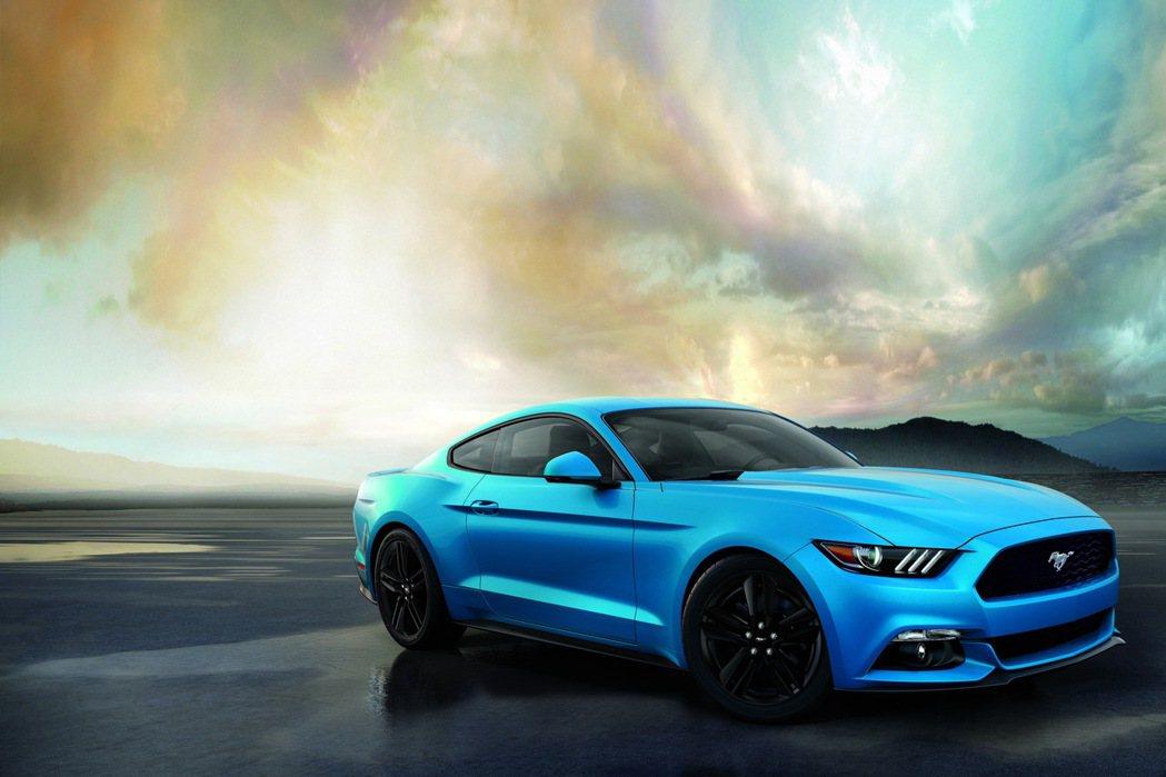 FORD將於2017新車大展中展出Grabber Blue新車色的Ford Mu...