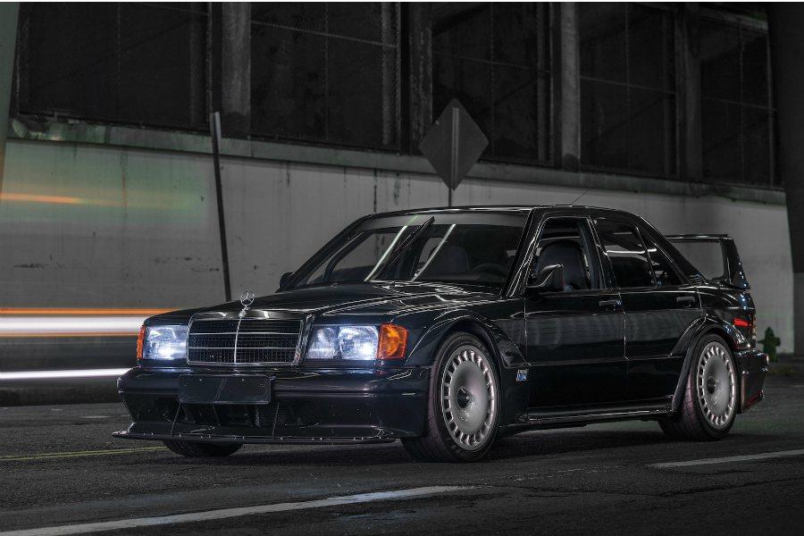 80-90年代的 DTM 賽事中,BMW M3 與 Mercedes-Benz 190 E 可說是最為津津樂道的名駒。   摘自 RM Sotheby's