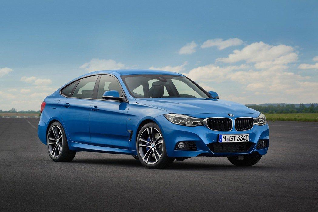 BMW 3系列Gran Turismo。 圖/汎德提供