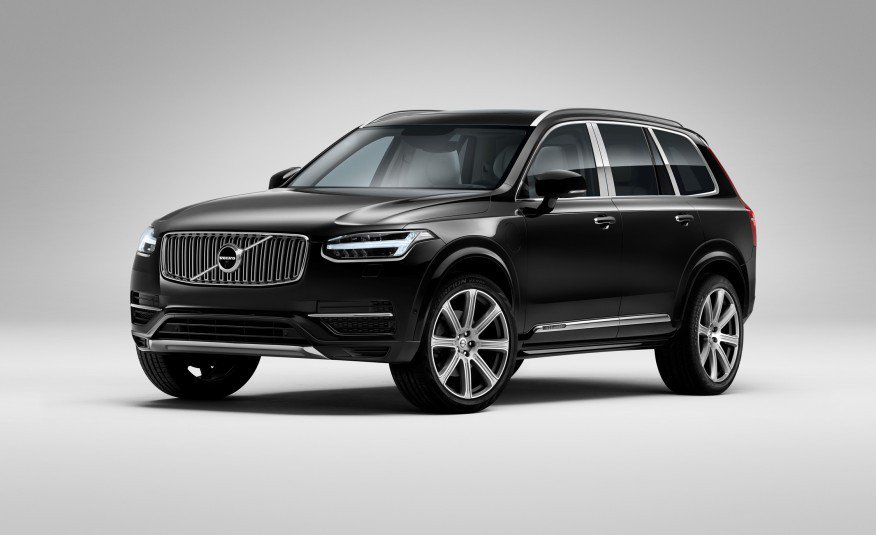 Volvo XC90 T8 Excellence Edition。 圖/Volv...