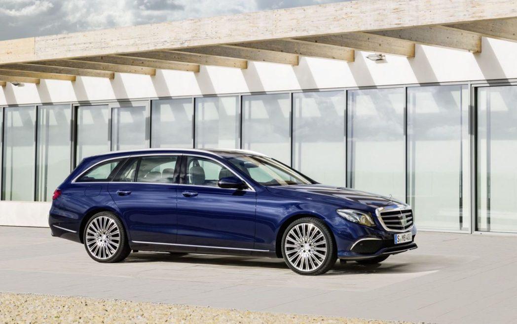 Mercedes Benz E-Class Estate。 圖/Mercedes...