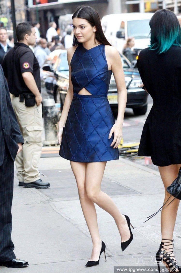 坎達爾珍娜(Kendall Jenner)。圖/達志影像