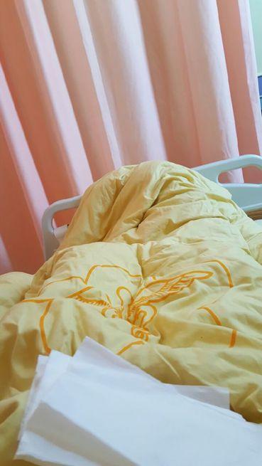 一名23歲網友記錄自己罹患肺腺癌的過程,最後的結局壤網友們相當不捨。 圖/擷自巴...