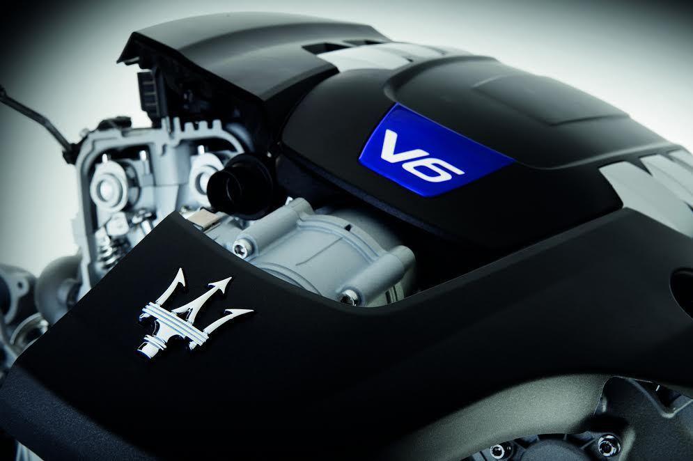 3.0升V6雙渦輪增壓缸內直噴汽油引擎。 Maserati提供