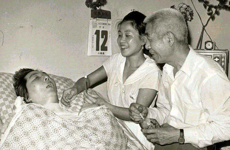 圖為民國73年王曉民38歲生日照片。 圖/聯合報系資料照片