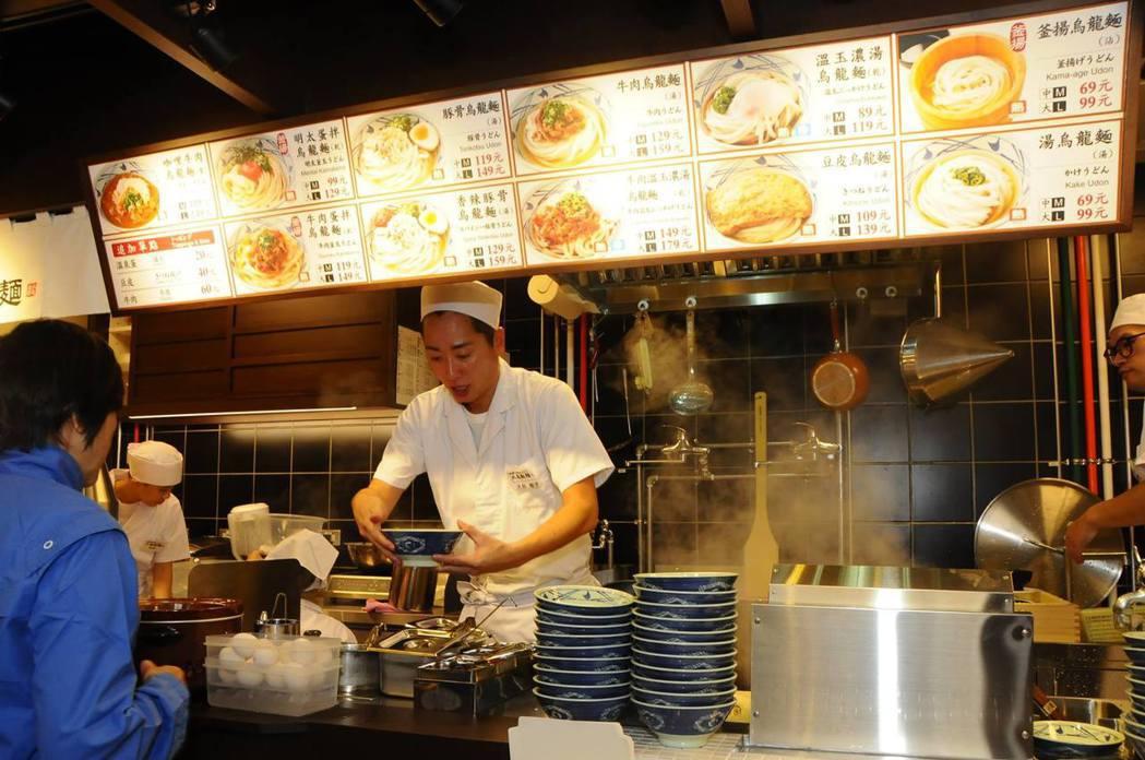 圖片來源/ 丸亀製麺粉絲頁
