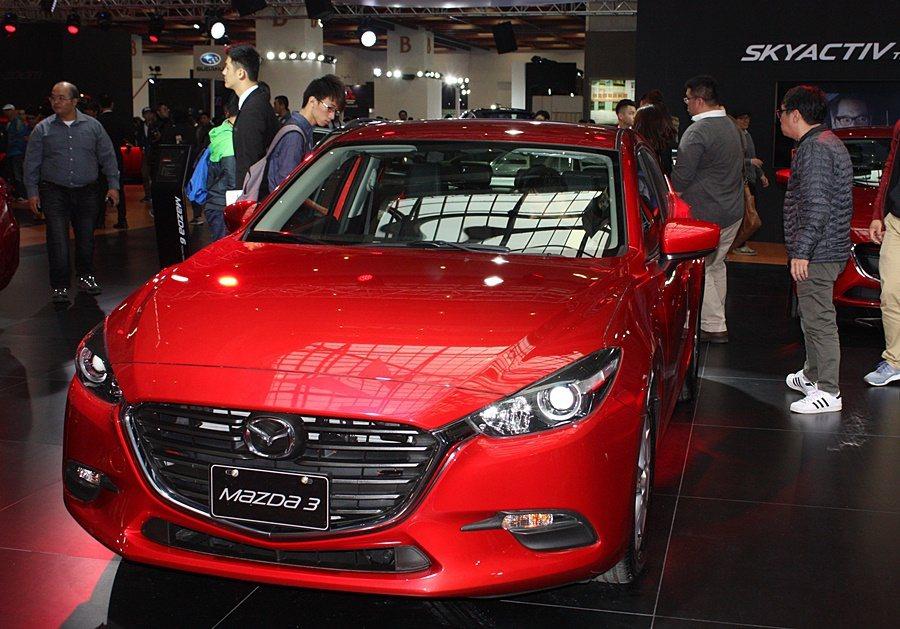 Mazda3是Mazda銷售主力。 記者林和謙/攝影