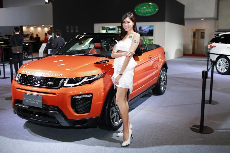 Range Rover Evoque Convertible休旅。 記者林和謙/...